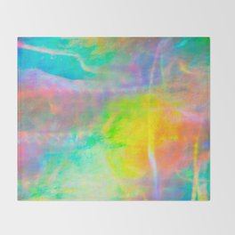 Prisms Play Of Light 1 Throw Blanket