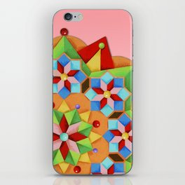 Manchester Mandala iPhone Skin