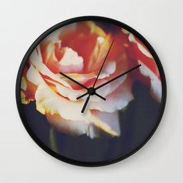 ORANGE FEELINGS Wall Clock