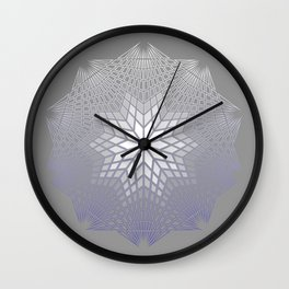NAKED GEOMETRY no 3 Wall Clock