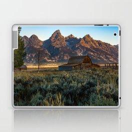 Wyoming - Moulton Barn and Grand Tetons Laptop & iPad Skin