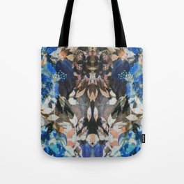 Rorschach Flowers 11 Tote Bag