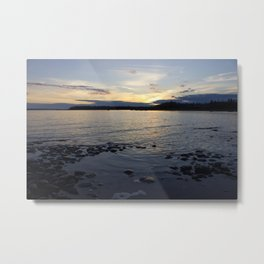 Late Sunset Metal Print