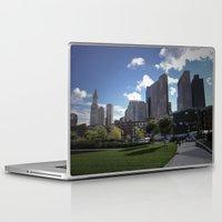 boston Laptop & iPad Skins featuring Boston by Jill Deering