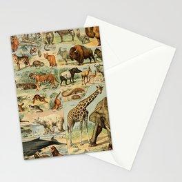 Adolphe Millot - Nouveau Larousse Illustré - Mammifères A (Mammals) (1906) Stationery Cards