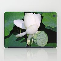 lotus iPad Cases featuring Lotus. by Assiyam