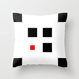 Too Small (Square) Throw Pillow