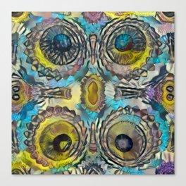 4 Pinnacle Colored Warts Canvas Print