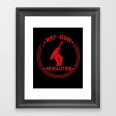 Ray-Gun Revolution Framed Art Print