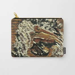 Abstract Pelican Art Carry-All Pouch