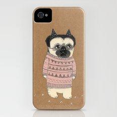 pug iPhone (4, 4s) Slim Case