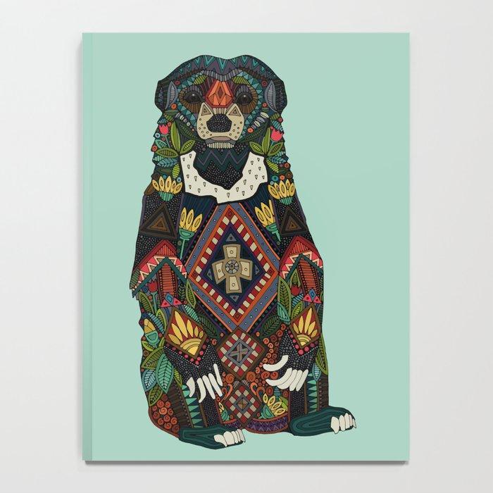 sun bear mint Notebook