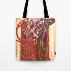 The Devils Kiss Tote Bag
