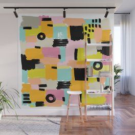 Color section001 Wall Mural