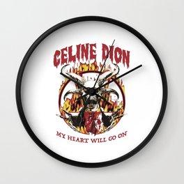 CelineDion my heart will go on Wall Clock