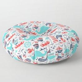 Ahoy Matey Floor Pillow