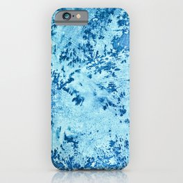 Color Fields: Winter Frost iPhone Case