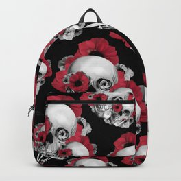 Evolution of Poppies Pattern Backpack