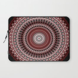 Whirls of Maroon Laptop Sleeve