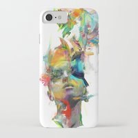 muscle iPhone & iPod Cases featuring Dream Theory by Archan Nair
