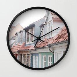 Aalborg, Denmark Wall Clock