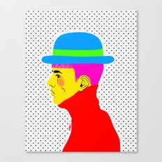 Mr. Colors Canvas Print