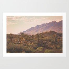 Wild West II Art Print