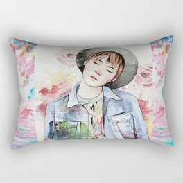 the age of blossoms Rectangular Pillow