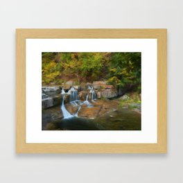 Lower Falls II Framed Art Print