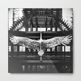 «Escaped shadoof» Metal Print