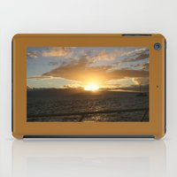 hawaiian iPad Cases featuring Hawaiian Sunset by Katherine Farah