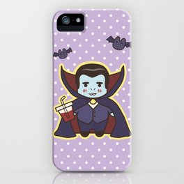 Kawaii Little Count iPhone Case
