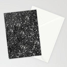 Stars Glitter Stars Stationery Cards