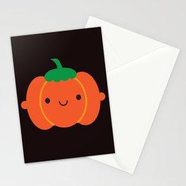 Happy Halloween Pumpkin Stationery Cards