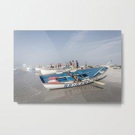Brigantine Lifeboat Metal Print