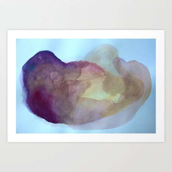 Bruise II Art Print