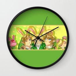 Legend of Zelda: Bunny hoods Wall Clock