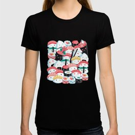 Kawaii Sushi Crowd T-shirt