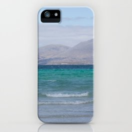 Beach 3 Lewis and Harris 4 iPhone Case