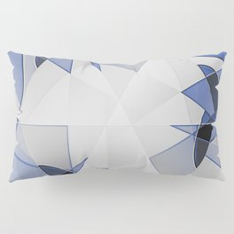 blue background for home decor Pillow Sham