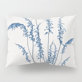 Blue flowers 2 Pillow Sham