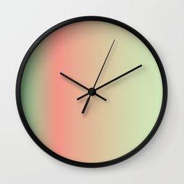 Gradient line V2 Wall Clock