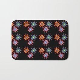 Colorful Stars II Bath Mat