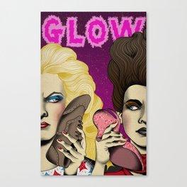 GLOW tv show fan art Canvas Print