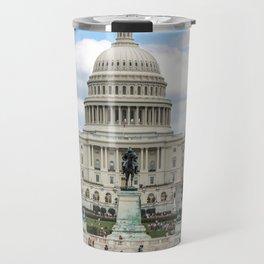 The US Capitol Building Travel Mug