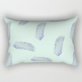 Palm Tree Leaf Rectangular Pillow