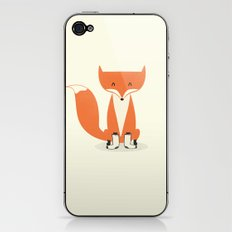 A Fox With Socks iPhone & iPod Skin