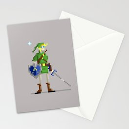 Pixel Link Stationery Cards