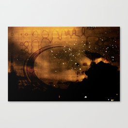 Terrestrial Visitation Canvas Print