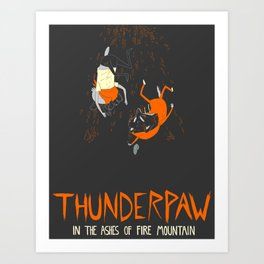 It Was Just Thunder Art Print